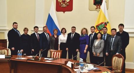 Участие заместителя Председателя Правления во встрече с губернатором